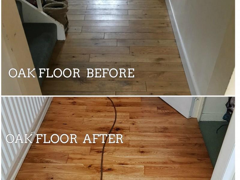 oak floor sanding croydon